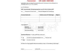 XXVI. Internationales Pferde- und Fahrsportsymposium