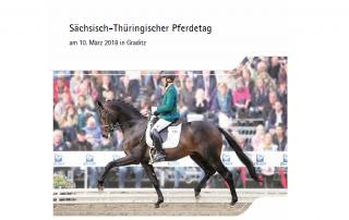 Sächsisch-Thüringischer Pferdetag am 10. März 2018 in Graditz
