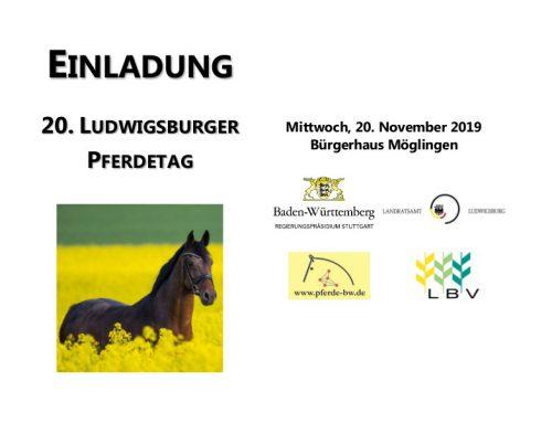 20. Ludwigsburger Pferdetag in Möglingen