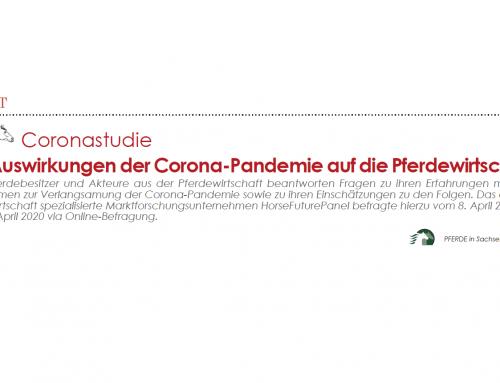 Die Auswirkungen der Corona-Pandemie auf die Pferdewirtschaft