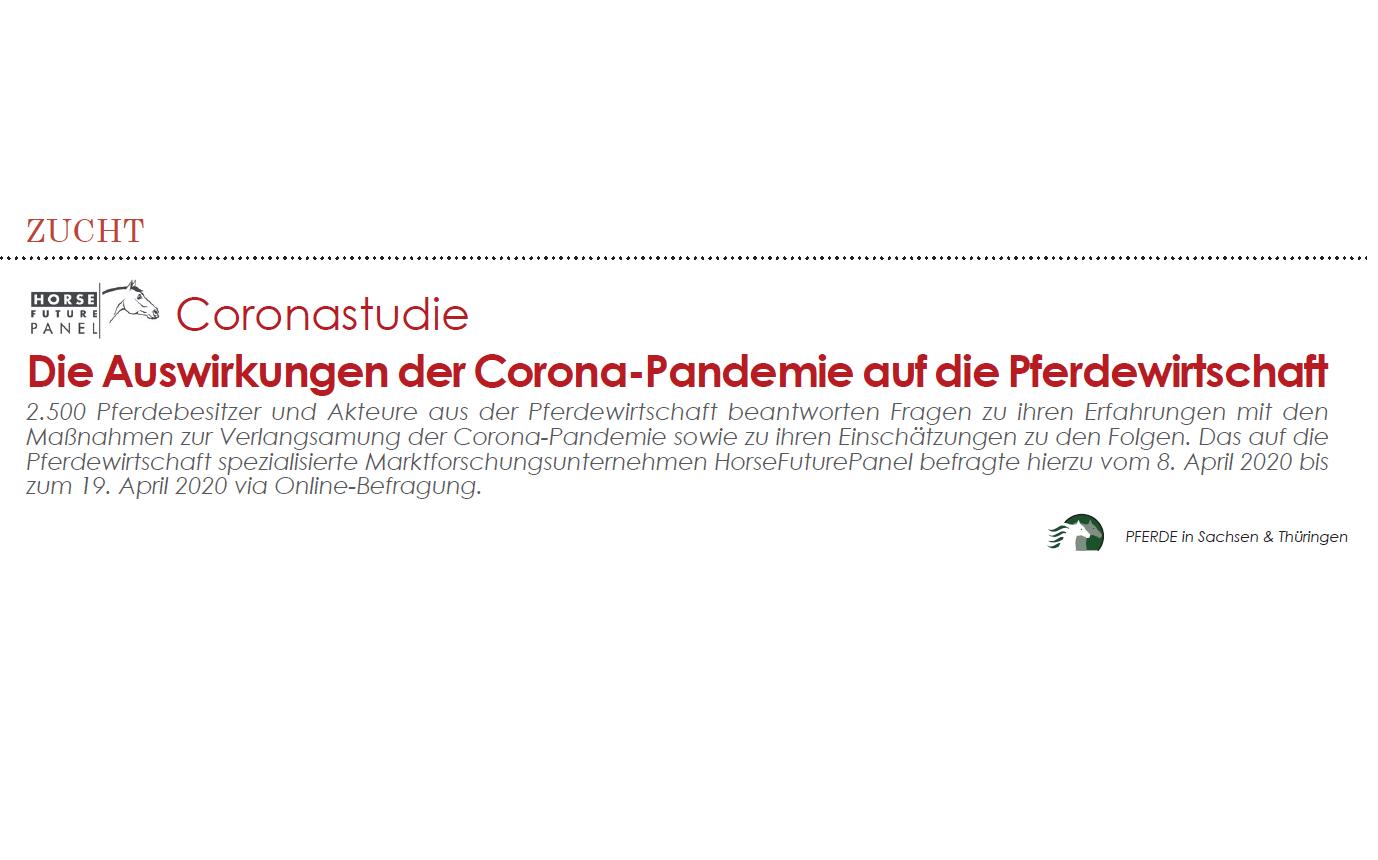 Coronastudie_PFERDE in Sachsen & Thüringen 2020