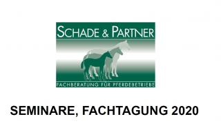 SEMINARE, FACHTAGUNG 2020 - Schade und Partner