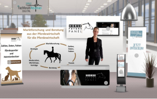 HFP-Stand Fachforum heimtier goes digital 2020