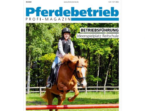 """Pferdebetrieb-Artikel """"Reitschul-Spezial"""""""