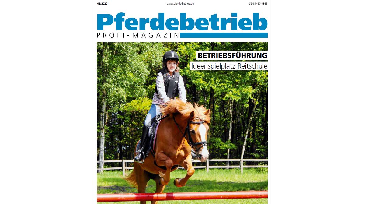 Pferdebetrieb Reitschul-Spezial 2020 - Pferde für unsere Kinder e.V.