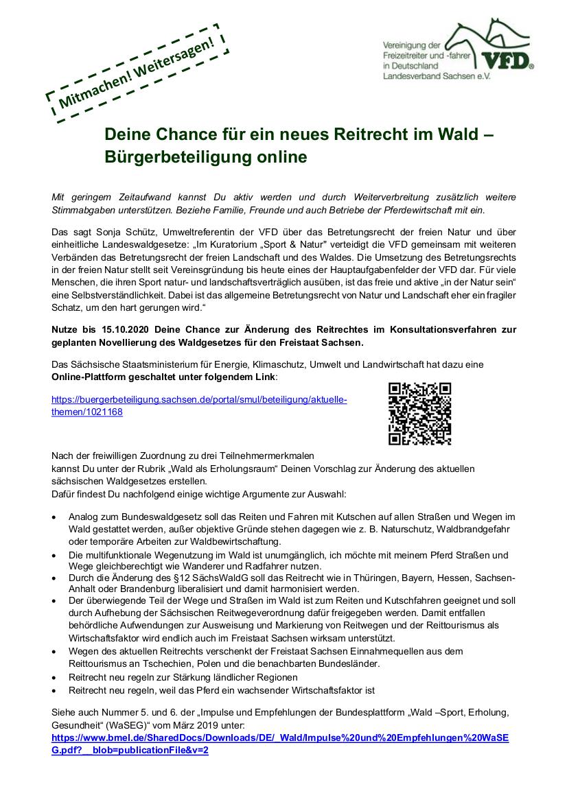 VFD_Beteiligung Waldgesetz