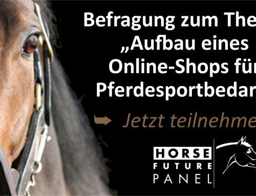 """Befragung zum Thema """"Aufbau eines Online-Shops für Pferdesportbedarf"""""""